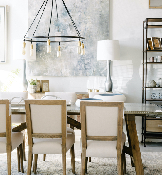 chairs and dining room set